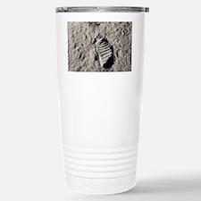 Footprint on Moon Travel Mug