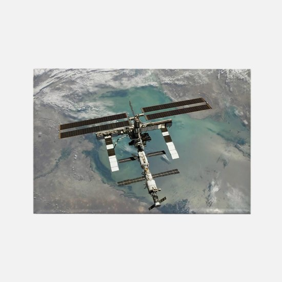 Space Station Rectangle Magnet
