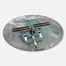 Space Station Sticker (Oval)