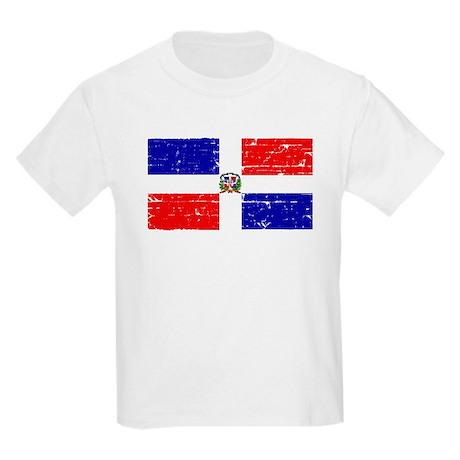 Dominican republic flag Kids Light T-Shirt