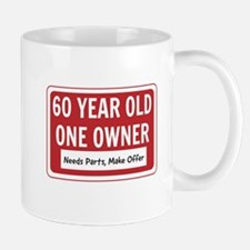60 Year Old One Owner Mugs