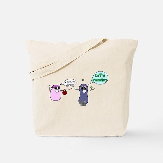 Let's Streak! Tote Bag