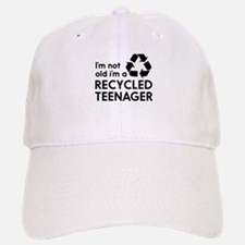 Im Not Old, Im a Recycled Teenager Baseball Baseball Baseball Cap