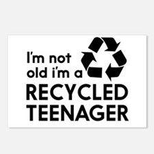Im Not Old, Im a Recycled Teenager Postcards (Pack