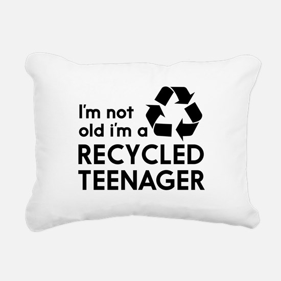 Im Not Old, Im a Recycled Teenager Rectangular Can