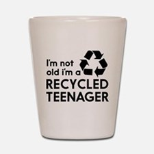 Im Not Old, Im a Recycled Teenager Shot Glass