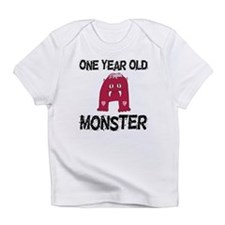 One Year Old Monster Infant T-Shirt