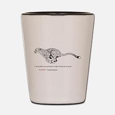 Tears Of the cheetah Shot Glass