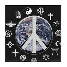 Peaceful Living Tile Coaster
