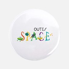 """Outer Space 3.5"""" Button"""