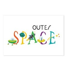 Outer Space Postcards (Package of 8)