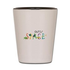 Outer Space Shot Glass