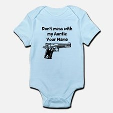 Don't Mess With My Auntie (Custom) Body Suit