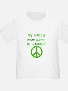 My Auntie Is A Hippie (Custom) T-Shirt