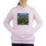 Cuddles by the fence Women's Hooded Sweatshirt