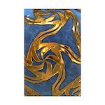 Faberge's Jewels - Blue Mini Poster Print