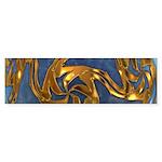 Faberge's Jewels - Blue Sticker (Bumper)