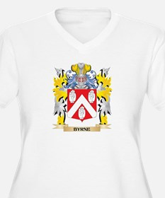 Byrne Coat of Arms - Family Cres Plus Size T-Shirt