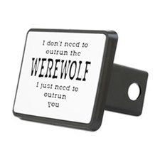 Outrun The Werewolf 1 Hitch Cover
