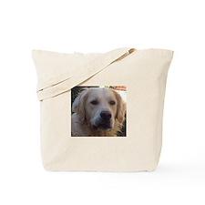 Charlie the Golden Retriever Tote Bag