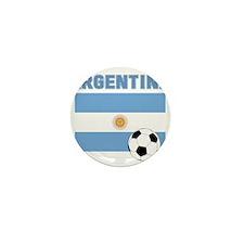 Argentina soccer Mini Button (10 pack)