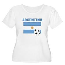 Argentina soccer Plus Size T-Shirt