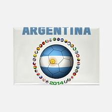 Argentina soccer Magnets
