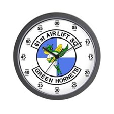 61st Airlift Squadron Wall Clock