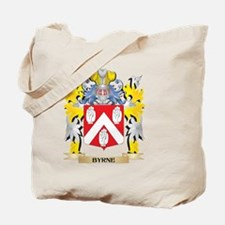 Byrne Coat of Arms - Family Crest Tote Bag