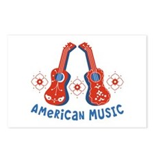 American Music Postcards (Package of 8)