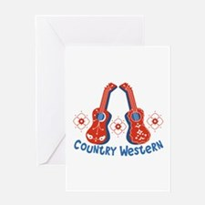 Country Western Greeting Cards