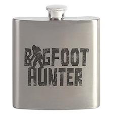 Bigfoot Hunter (distressed) Flask