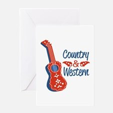 Country & Western Greeting Cards