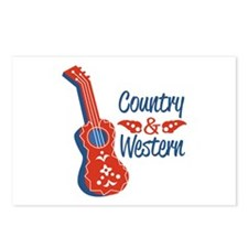 Country & Western Postcards (Package of 8)