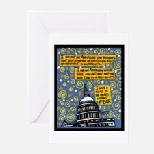 I Support the ACLU Greeting Cards (Pk of 10)