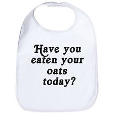 oats today Bib