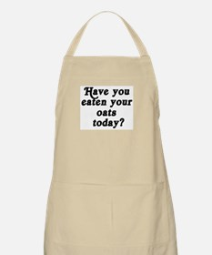 oats today BBQ Apron