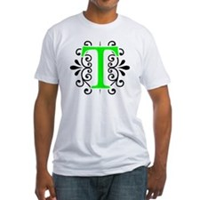 MONOGRAM FLORESCENT GREEN & BLACK Shirt