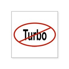 Turbo Sticker