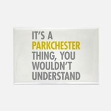 Parkchester Bronx NY Thing Rectangle Magnet