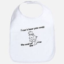 until the end of the row Bib