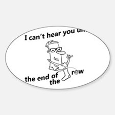until the end of the row Decal