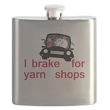 Brake for yarn shops Flask