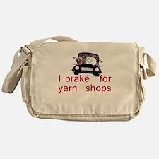 Brake for yarn shops Messenger Bag