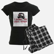 Brake for yarn shops pajamas