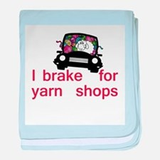 Brake for yarn shops baby blanket