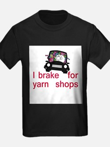Brake for yarn shops T