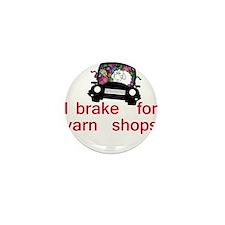 Brake for yarn shops Mini Button (10 pack)