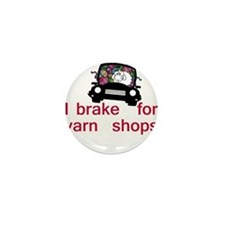 Brake for yarn shops Mini Button