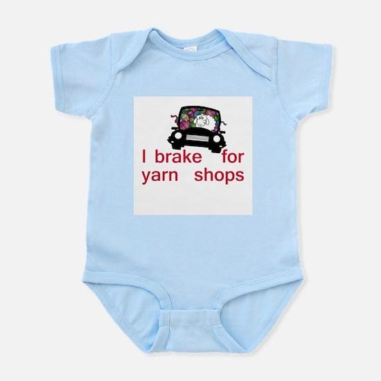Brake for yarn shops Infant Bodysuit
